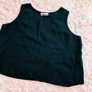 Vintage Diana Marco Black Tank Top